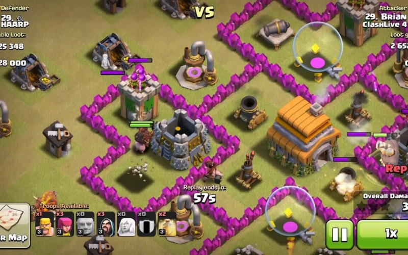 How-to-Defeat-Clan-Castle-Troops-Clash-of-Clans