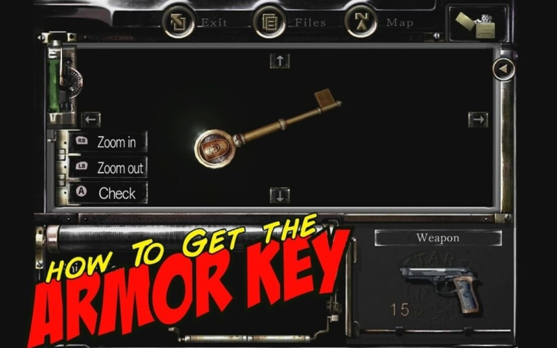 How-to-get-the-Armor-key-Resident-Evil-remastered