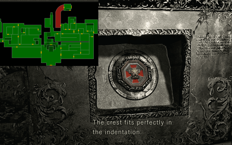 How-to-get-the-second-stone-and-metal-object-Resident-Evil-remastered
