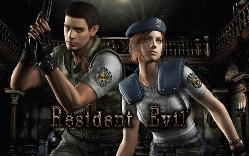 Resident-evil-remake-Crushing-Wall-Puzzle