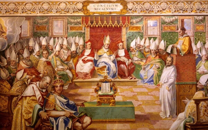 Why-the-council-of-Nicea-was-called