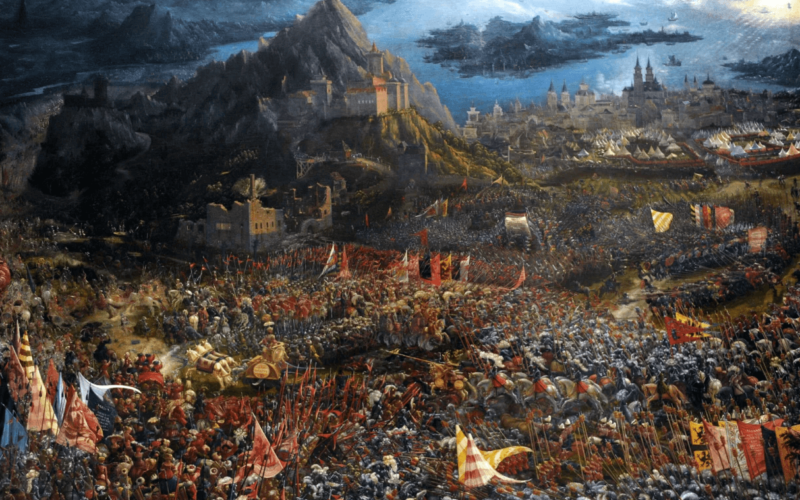 How-Alexander-the-great-defeated-the-Persians-at-Gaugamela
