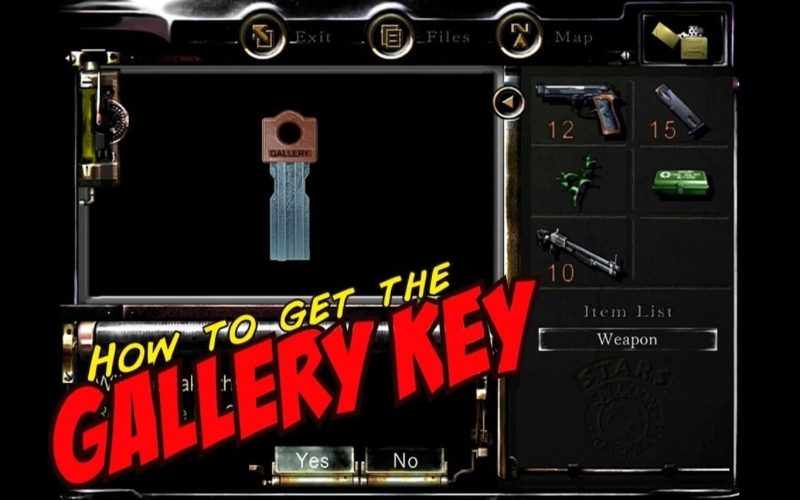 How-to-get-the-gallery-key-in-Resident-Evil-remastered