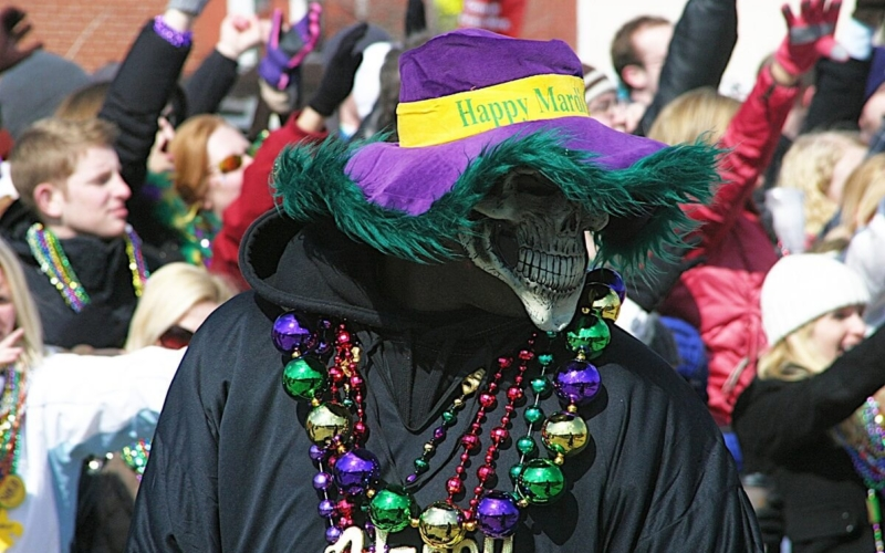 Why Do People Throw Beads at Mardi Gras?