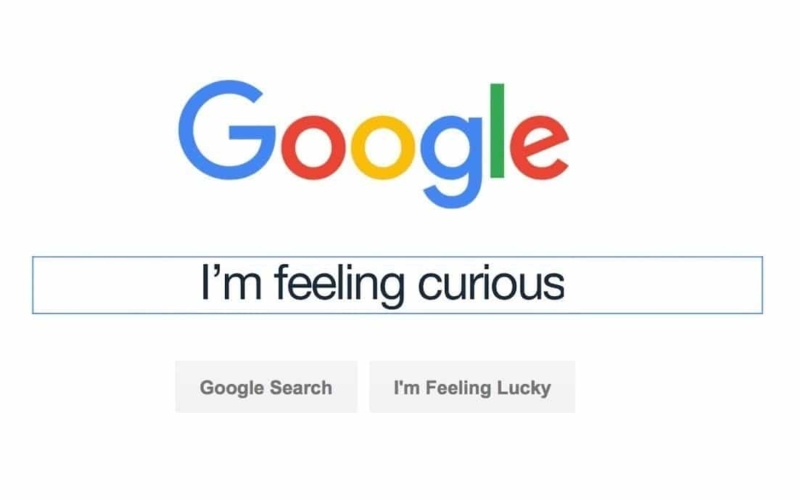 How does Google's I'm Feeling Curious Work?