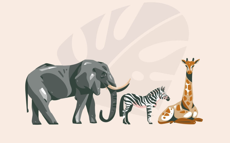 How many Animals are there in the World?