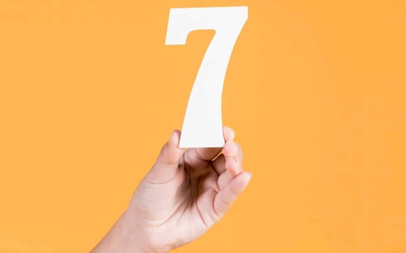 Is Seven Really a Lucky Number?