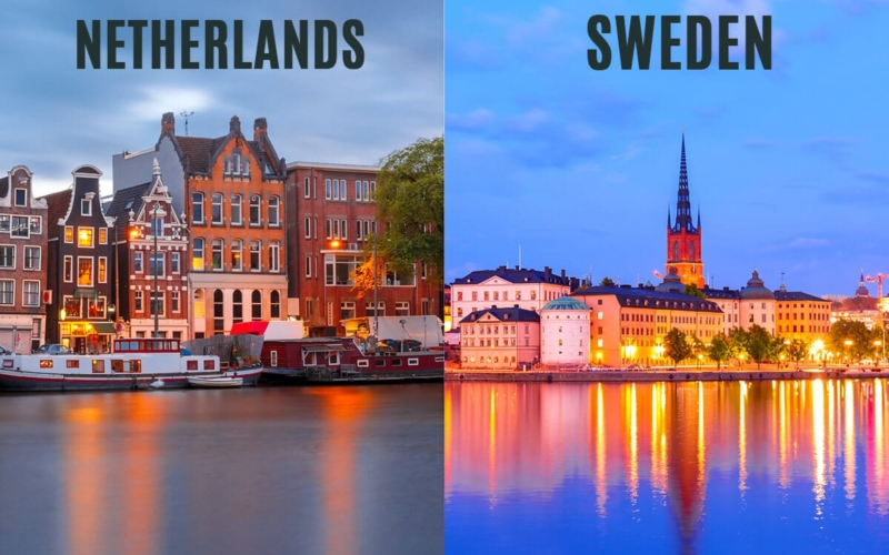 Which is a better place to move to Sweden or the Netherlands?
