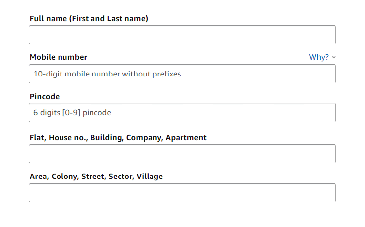 What do they Mean by Address Line 1 and Address Line 2?