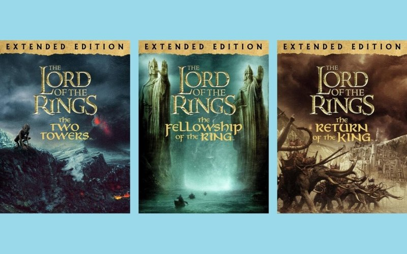 What is the combined length of the Lord of the Rings Extended Editions?