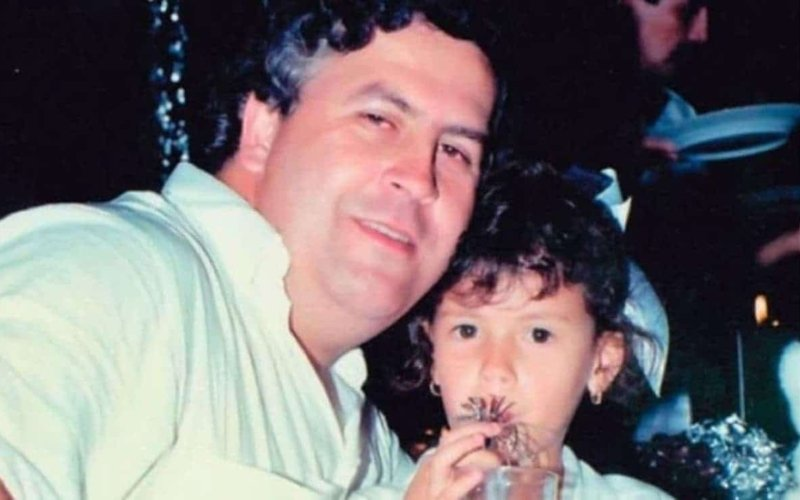 Where is Pablo Escobar's daughter Manuela Escobar today?