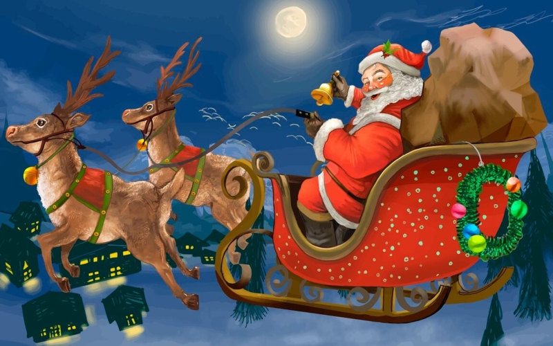 Does Santa Have 8 Or 9 Reindeer? What Are Their Names?