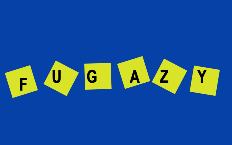 """What is the meaning of the word """"fugazy""""?"""