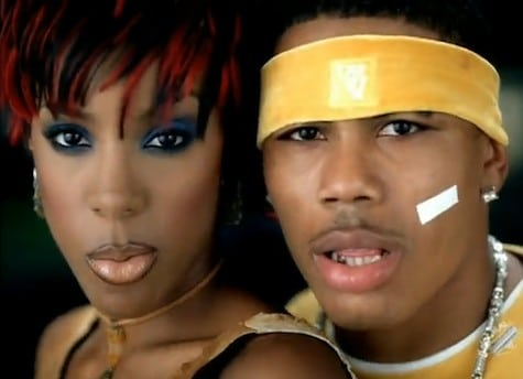 Why Does Hip-hop Star Nelly Have A Piece Of Tape On His Cheek? What Does It Represent?