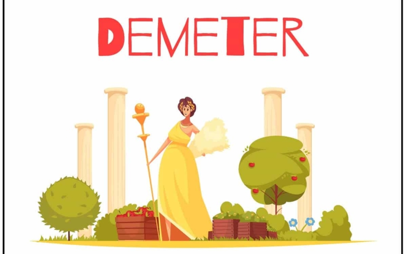 How many children did Demeter have?