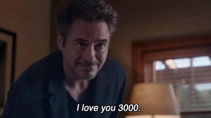 """What does """"I love you 3000"""" mean and where does it come from?"""